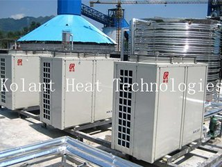 Our heat pump for factory